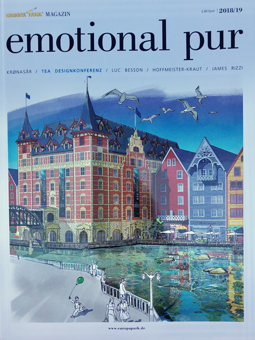 "Europa-Park-Magazin ""emotional pur"""